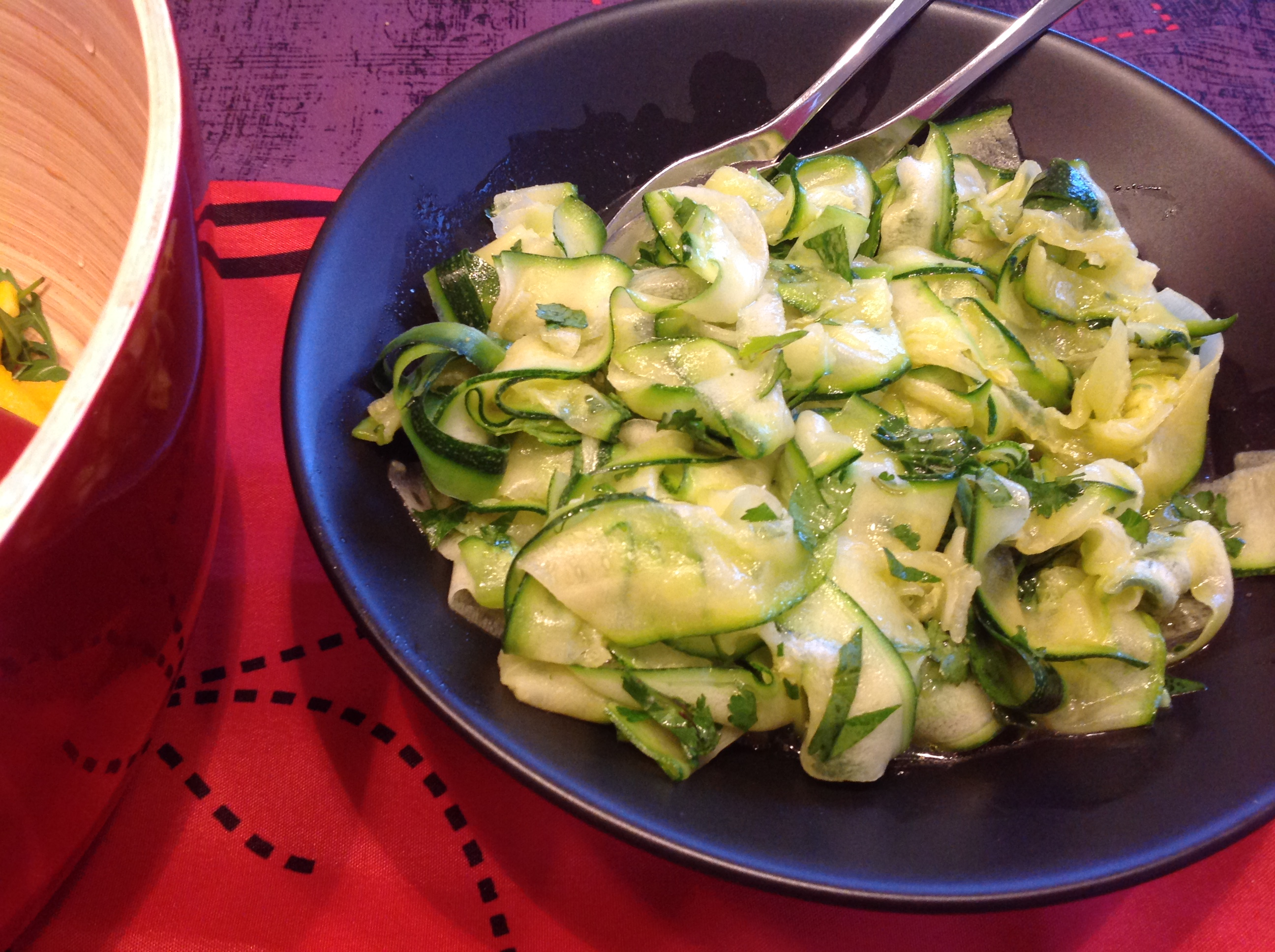 Frisse Courgettesalade
